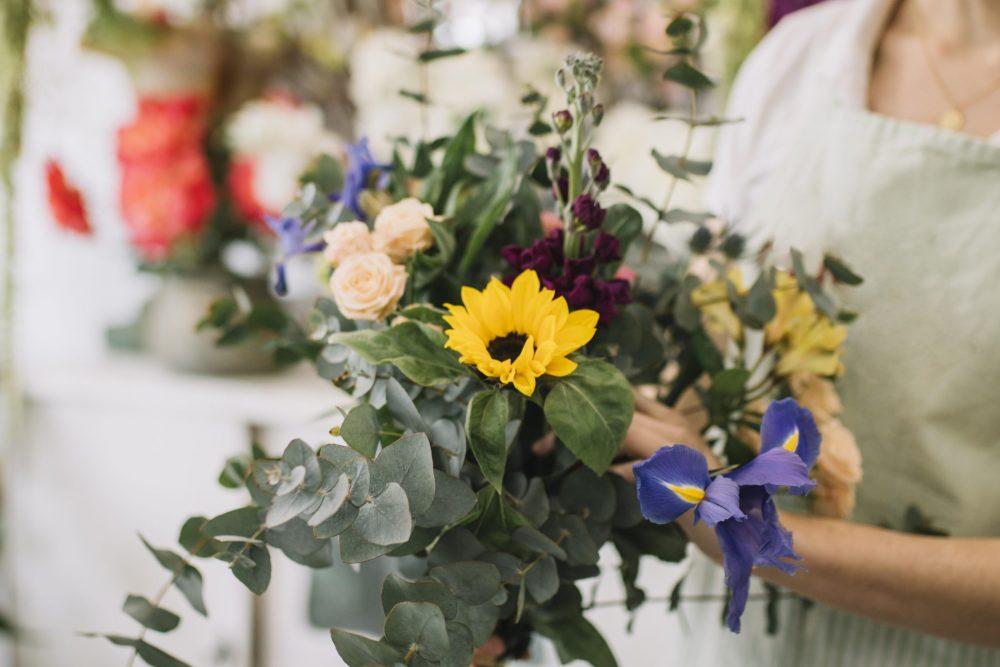 Bos bloemen gelegenheid